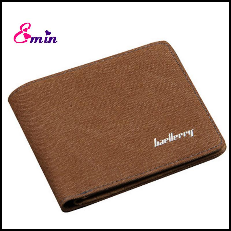 Canvas Mens Wallets Top Quality Wallet Card Holder Multi ...