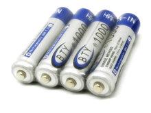 Bty дома Ni MH AAA 1000 мАч 1.2 В аккумуляторная батарея 10 шт./лот