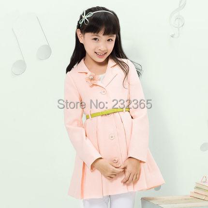 Пальто для девочек 2015 3D YC15FY1500