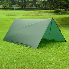 3F ul передач только 550 г 3 * 3 м сверхлегкий жилье пляж палатку беседка тент навес 15D нейлон тарп кемпинг Sunshelter