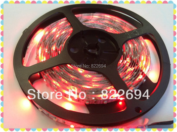 Free shipping!!! Decoration for diamond & jewellery shop DC12V RGB Waterproof 3528 LED Flexible Strips 300LEDs/5m