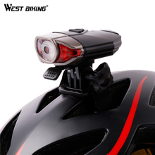 Buy WEST BIKING Bike Helmet Light USB Rechargeable Bicycle Handlebar Lights Safety Road Bike Mountain Cycling Front Light for $12.90 in AliExpress store