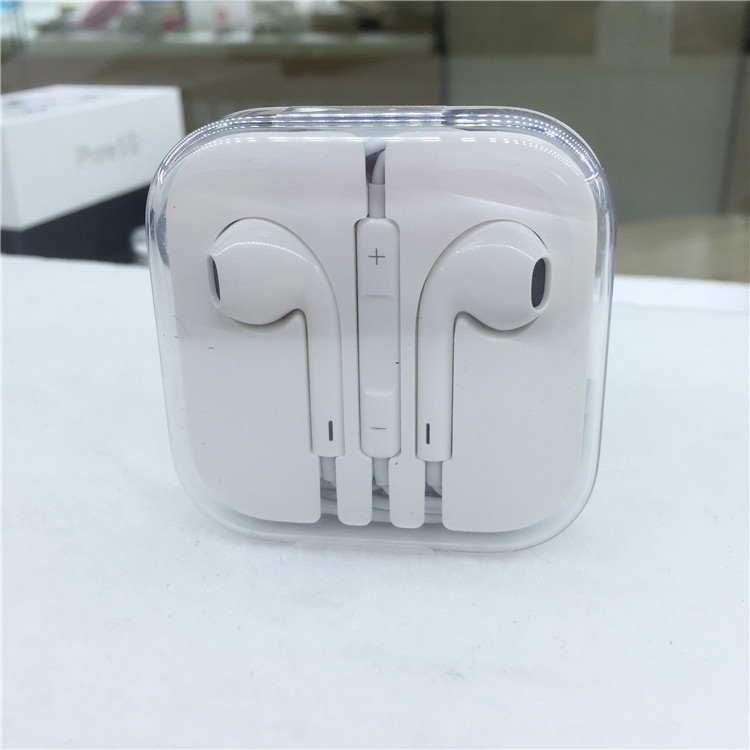 High Quality Headset Earphones handsfree Headphones with Mic 3.5mm Earbuds for All Mobile Phone Tablet for apple headpones(China (Mainland))