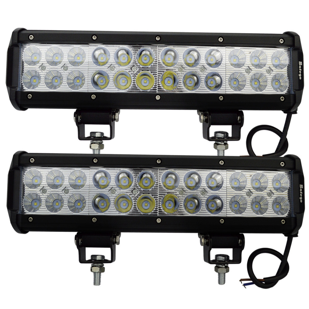 4pcs 72W LED LIGHT BAR LED WORK LIGHT BAR FOR TRUCK BOAT SUV OFFROAD ATV 4x4 4WD<br><br>Aliexpress