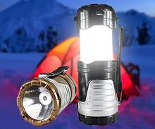 Camping Lantern Tent Retractable USB Solar Camping Lamp LED Portable Lantern Light for Climbing Camping Emergency EU Plug(China (Mainland))