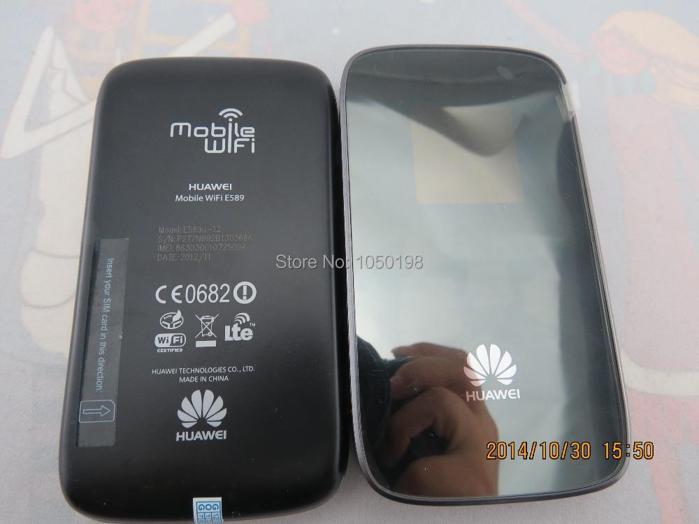 Unlocked Original Huawei E589U-12 LTE 150Mbps FDD 800/900/1800/2100/2600MHz 4G 3G Router Wireless Wifi Hotspot