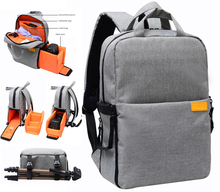 """Buy Multifunction DSLR Camera tripod Backpack 13"""" Laptop Video Photo Travel Bag Case With Raincover For Canon Nikon Sony Pentax for $28.60 in AliExpress store"""