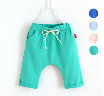 2015 Spring Summer Children Casual Pants Cotton Kids boys/girls Pants Brand Child Trousers Sports Pant Under wear #C32(China (Mainland))