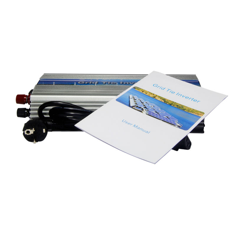 22-50V 1000W Solar High Frequency Pure Sine MPPT Wave Grid Tie Inverter,Output 180-260V.50hz/60hz,For 60 cell and 70 cell panels(China (Mainland))