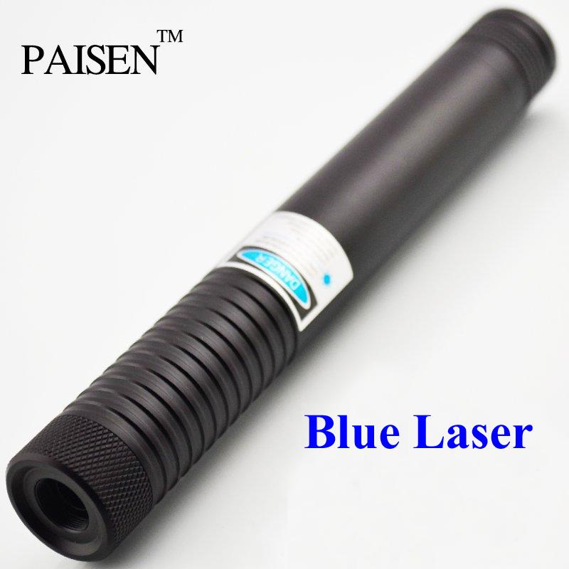 High Power 3000mw 3w 445nm Blue Laser Pointer Flashlight