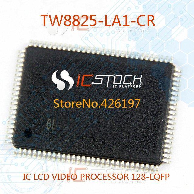 Free Shipping TW8825-LA1-CR IC LCD VIDEO PROCESSOR 128-LQFP 8825 TW8825 1PCS(China (Mainland))