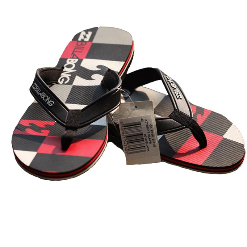 Billabong Flip Flop Men Fashion Beach Shoes, Mens Slipper Rubber Sole Sandalias Masculina,Plus Size PVC Summer Beach Men Sandals(China (Mainland))
