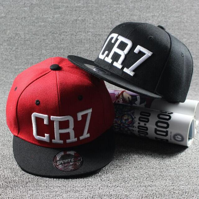 2016 детей звезды роналду CR7 вышивка дети бейсболка шлема кости мальчики девочки ...
