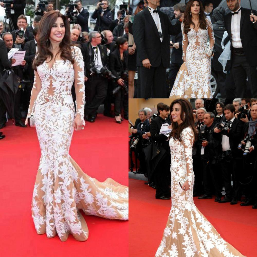 Celebrity long dresses 2019