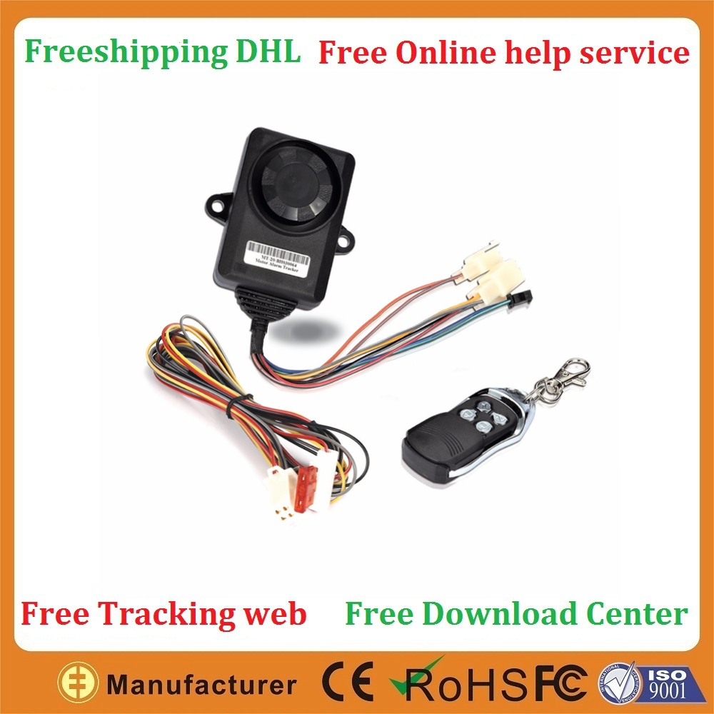 GSM GPRS Free tracking service free software Two way car alarm cell phone gps tracking for free(China (Mainland))