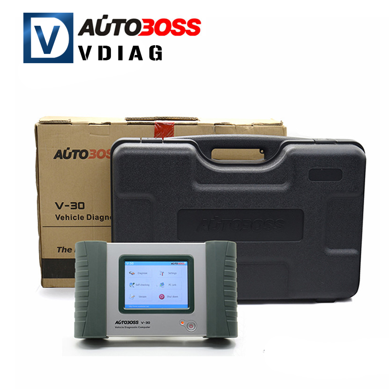 2016 Top-Rated 100% Original AUTOBOSS V30 Vehicle Diagnostic Computer Update Online AUTOBOSS V30 Auto Scanner Free Shipping(China (Mainland))