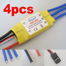 4x 30A Brushless speed controller ESC for Multicopter KK MWC Quad-X Quardcopter