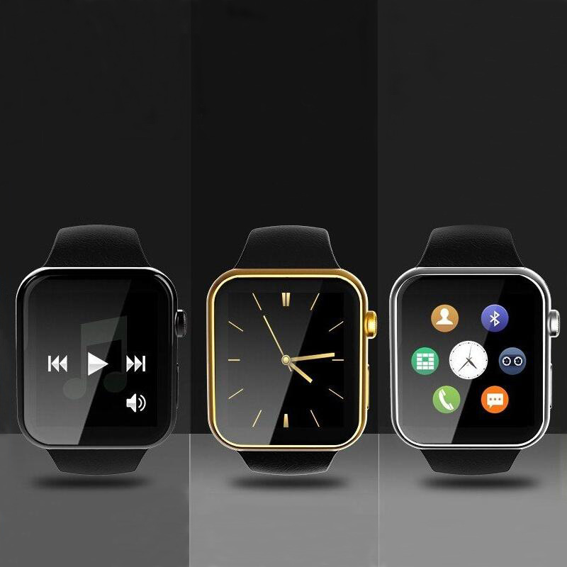 New fashion A9 wearable devices smart watch bluetooth control selfie heart rated monitor 1.54inch smartwatch for android and IOS