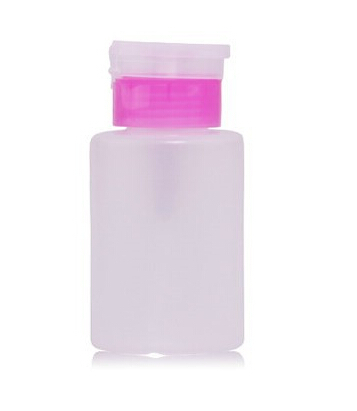 New 2015 150ML Pump Polish Dispenser Empty Bottle Nail Art Remover UV GEL Cleaner