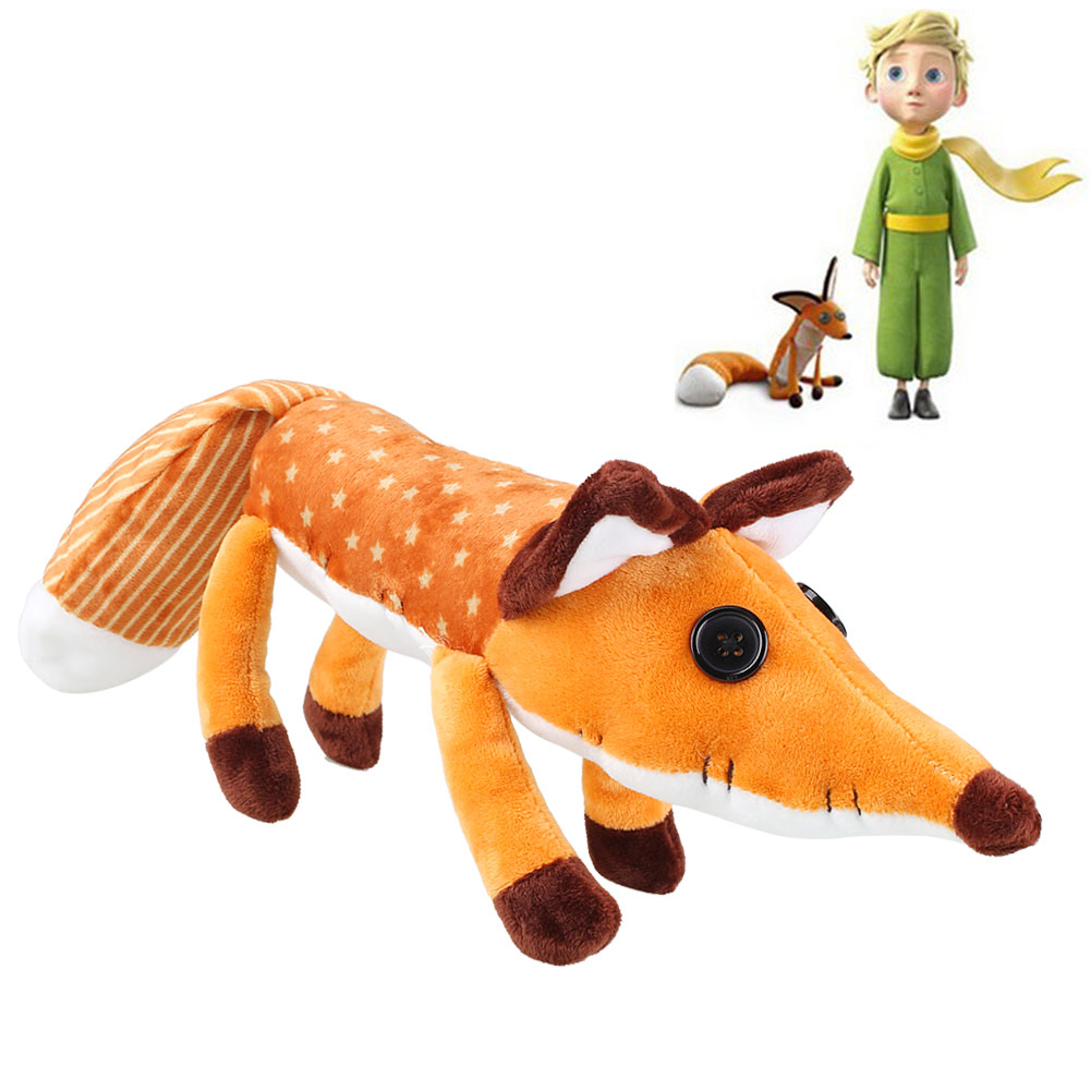 The Little Prince Kids Child Soft Fox Plush Doll Lovely Stuffed Animal Gift(China (Mainland))