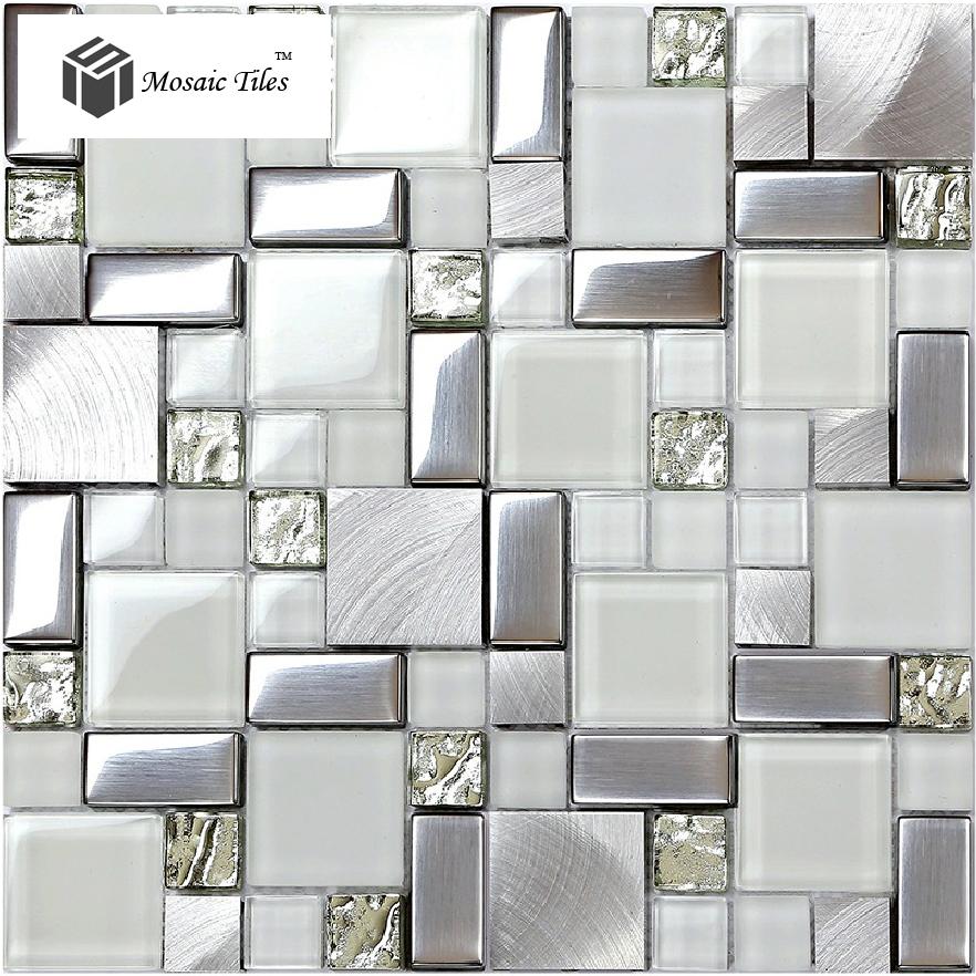 Online kopen wholesale metallic badkamer tegels uit china metallic badkamer tegels groothandel - Deco keuken ontwerp ...