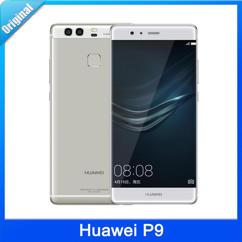 Original <font><b>Huawei</b></font> <font><b>P9</b></font> <font><b>P9</b></font> Plus 32GB/64GB LTE 4G 5.2''EMUI 4.1 Kirin 955 Octa Core 1.8GHz RAM 3GB /4GB 12.0MP Camera Cell Phone