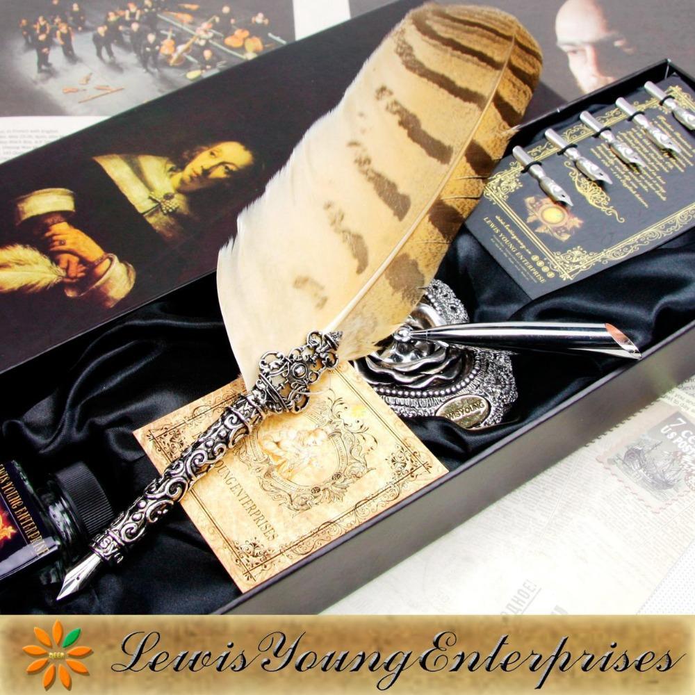 pen,Graduation gift dip pen, birthday gift quill pen, Calligraphy ...