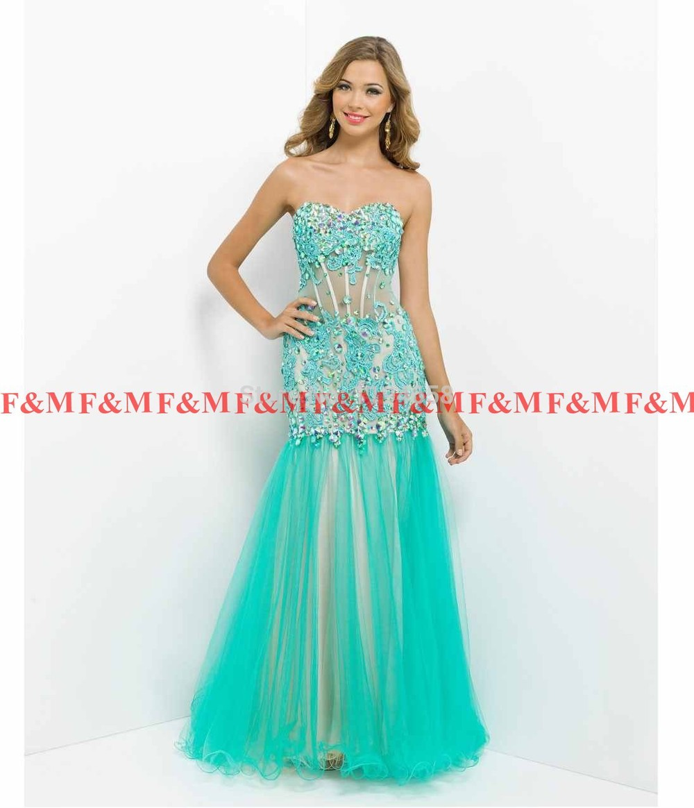 Prom Dresses 2014 Mermaid. Courtney Robinson - Claire\'s Pearl And ...