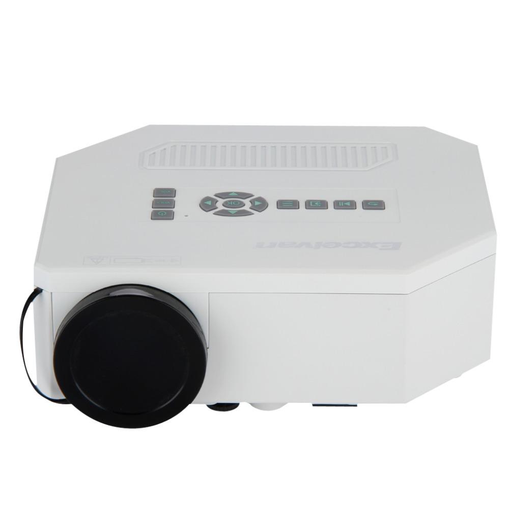 Excelvan Multimedia Portable Mini LED/LCD Home Entertainment Theater Projector With USB/SD/VGA/HDMI/AV/Micro USB Projektor(China (Mainland))
