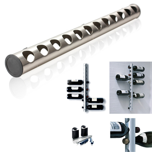 Stainless Steel Wine Rack Bar Wall Mounted Kitchen Holder TB Sale(China (Mainland))