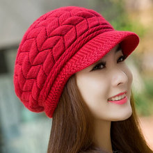Fall Winter Beanies Knitted Hats Rabbit Fur Cap 8 Colors Snapback Cap Ladies Female Fashion Skullies Elegant Women Hats Y1 Q1(China (Mainland))