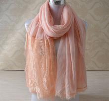 Buy 2016 fashions,cotton lace scarf,plain hijab,Muslim hijab,bandana,shawls scarves,Muslim muffler,wrap,cotton shaw,cape cj for $49.40 in AliExpress store