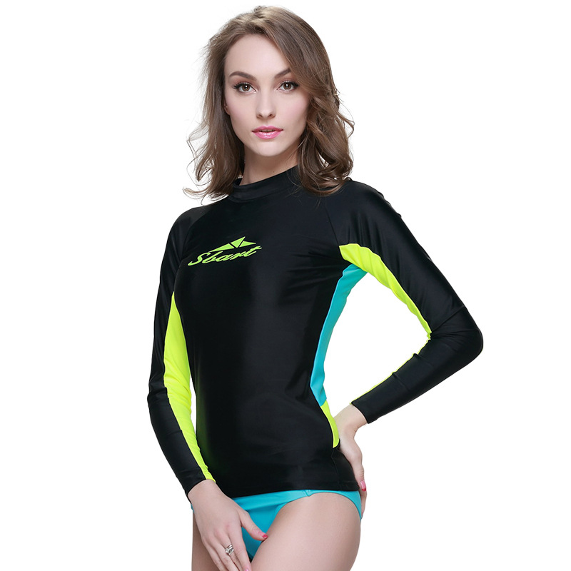 big brand rashguard women swim shirts womens rash guard