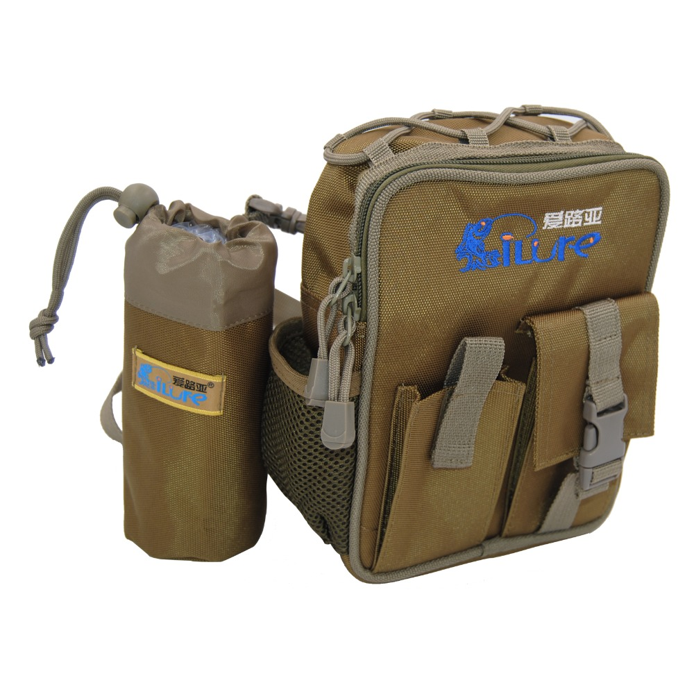 18*8*20cm Multifunctional Outdoor Waist Fishing Bag Large Capacity Waterproof Pesca Carp Fishing Sport Lure Box Tackle Bags