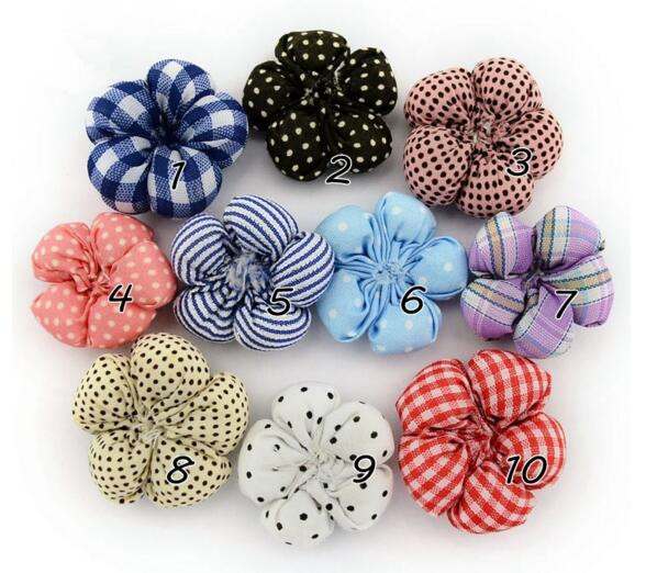 100pcs/lot DIY flower 35mm for hats/clothing/headare accessories diy floral china supplier wholesale free shipping(China (Mainland))