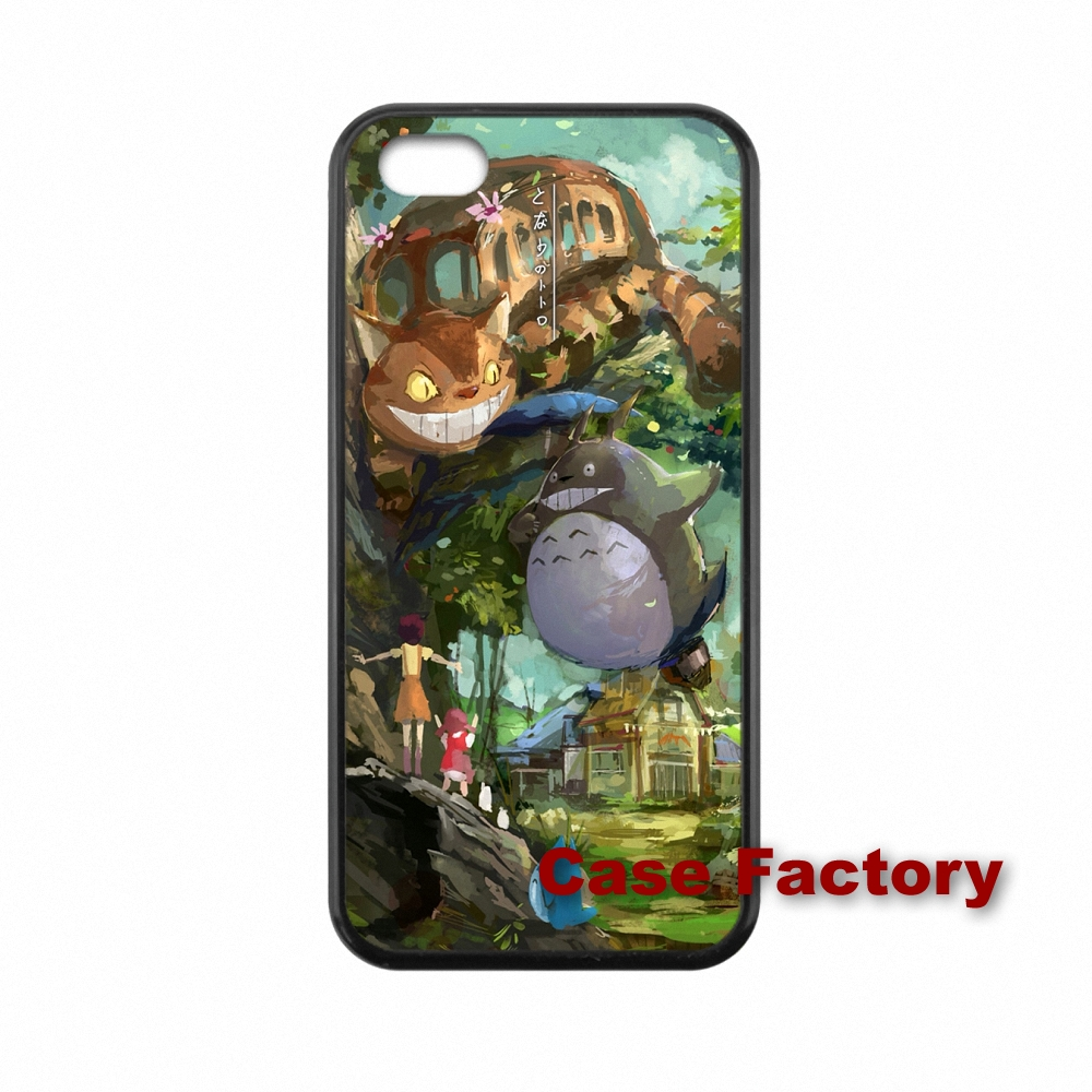 For HTC One X S M7 M8 mini M9 Plus Desire 820 Moto X1 X2 G1 G2 Razr D1 D3 Samsung S7 edge lovely My Neighbor Totoro Cute Skin