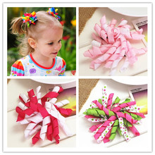 Buy diy flower korker hair ribbon bow baby girls hair clips girls women grosgrain bows hair children hairpins accessories for $1.35 in AliExpress store