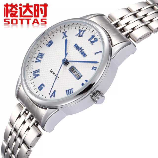 Free shipping new women luxury dress calendar watches fashion casual quartz gift watch Top brand Sottas 5014 Hot famous clock<br><br>Aliexpress