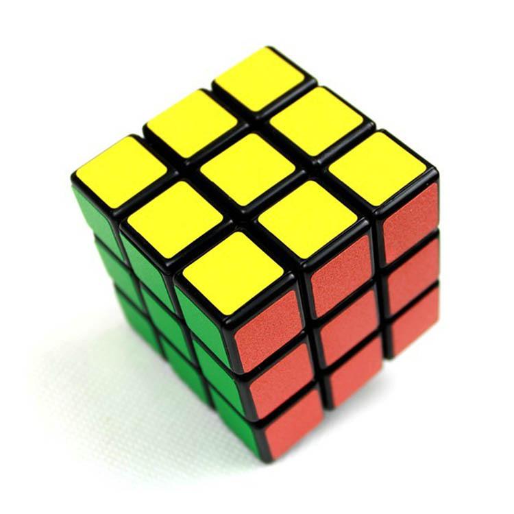 Гаджет  Fashion US 3x3x3 Colorful Plastic Magic Cube Professional Classic Puzzle Magic Cube Educational Tool Toy-0023 None Игрушки и Хобби