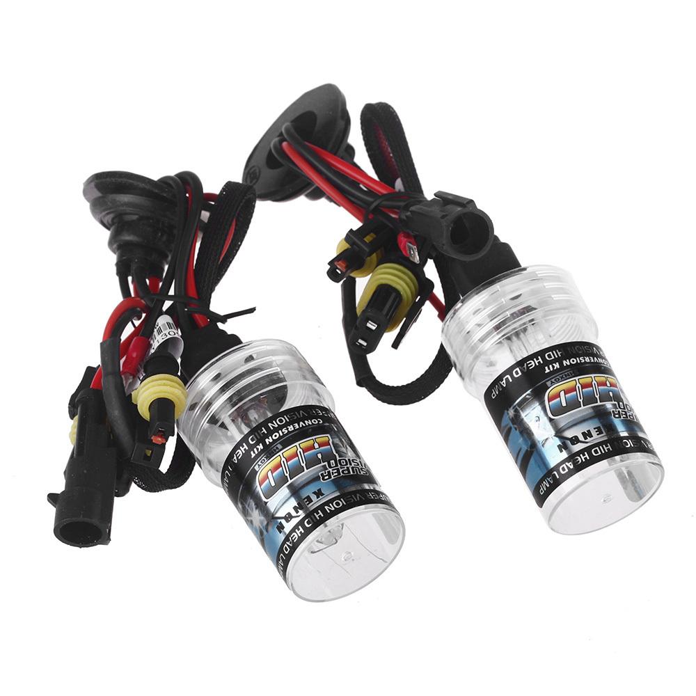 2pcs 35W 6000K HID Xenon H1 Replacement Bulb Lamps Light Conversion Car Kit Head Lamp Lights(China (Mainland))