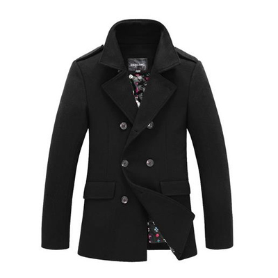 Mens Trench Coat Winter Slim Ft Cloak Male Double Breasted Jacket Brand Long Black Trench Coat Men Casaco Masculino(China (Mainland))