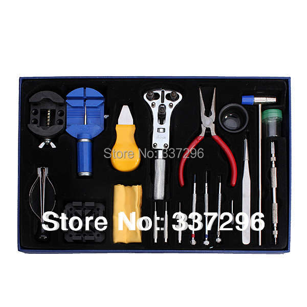 20pcs Horologe Wrist Watch Tools Set Watchmakers Watch Case Opener Repair Tools Set Watch Accessories(China (Mainland))