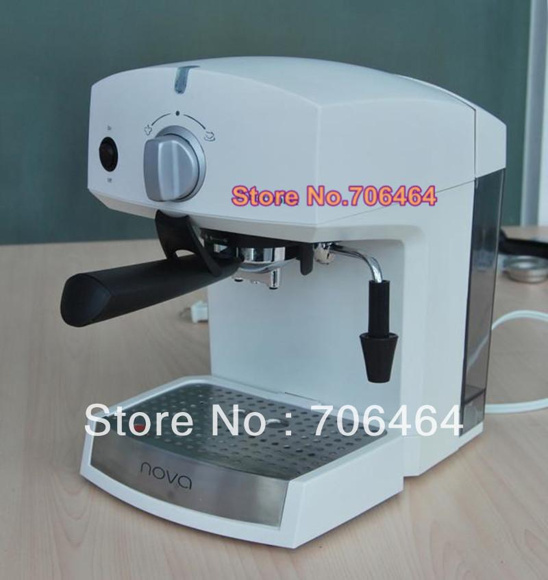 Automatic Electric Coffee Maker : Semi automatic espresso coffee powder/pod maker electric latte/cappuccino coffee machine ...