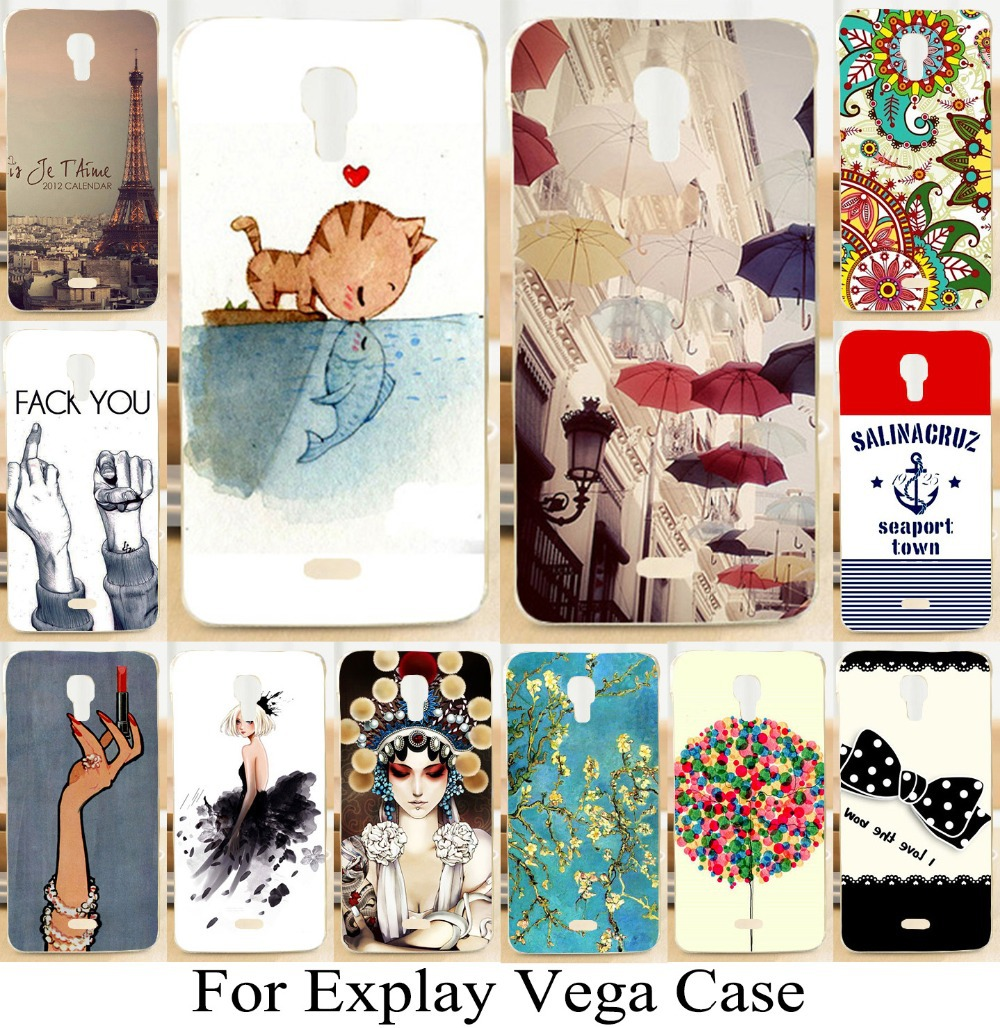 New Arrival Hard Plastic Phone Case For Explay Vega Case Cool Diy Painted Bag Skin Shell Cover Mobile bag(China (Mainland))