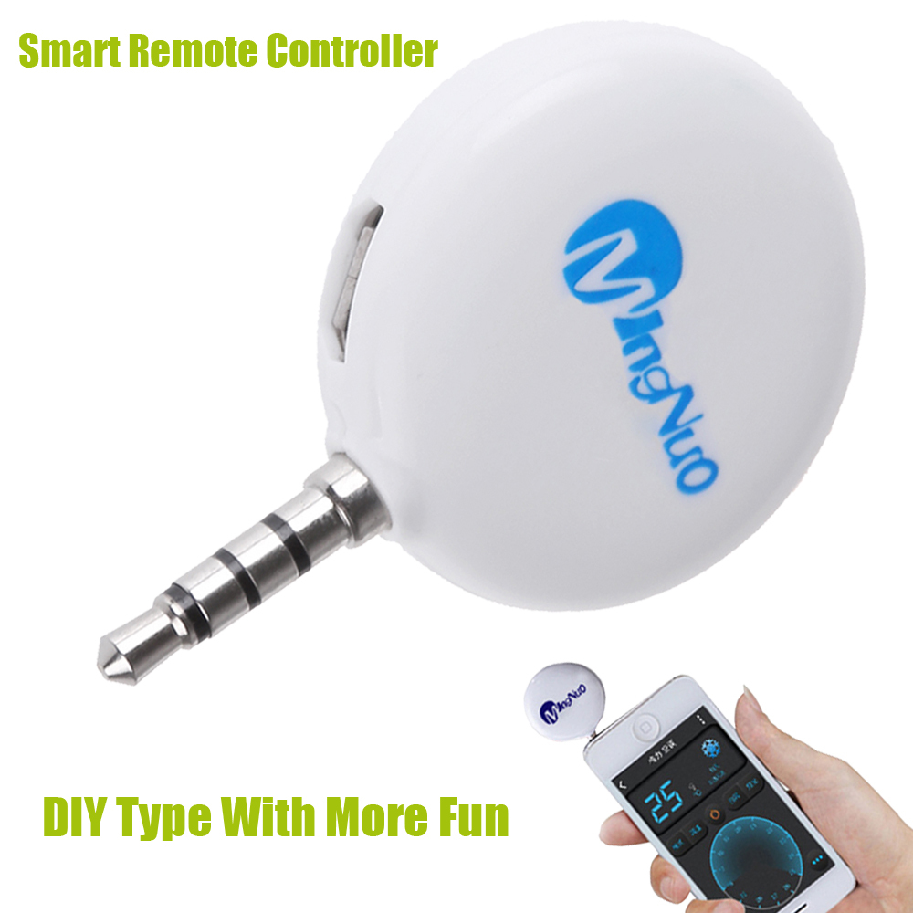 DIY Universal Smart Remote Control Wireless Ir Remote Controller With Learning Function Support 15M For IOS And Android Phone.(China (Mainland))
