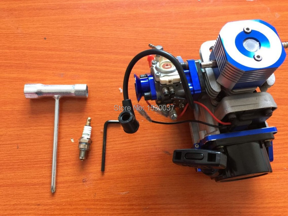 29cc 2-Stroke RC boat Petrol Marine Gas Engine for Racing Boat VS ZENOAH G290PUM(China (Mainland))
