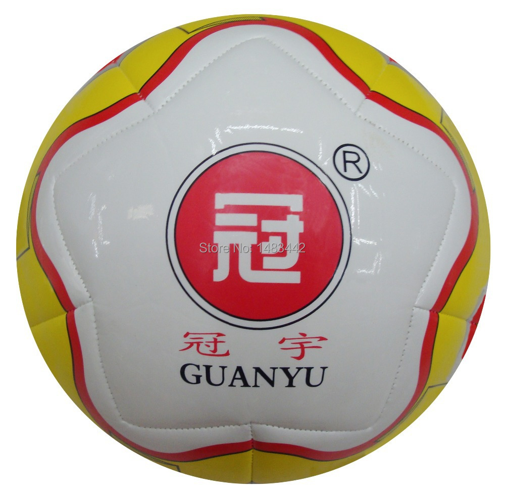 Free Shipping size 5 football machine Stitched Outdoor game soccer Football ball High quality GY-W047(China (Mainland))