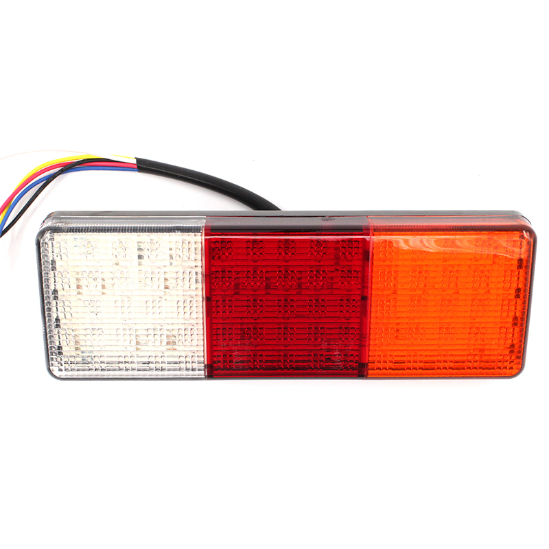 1 pair 75 LED 12V waterproof Stop Indicator Lamp rear Tail Light Trailer Reverse Light Truck
