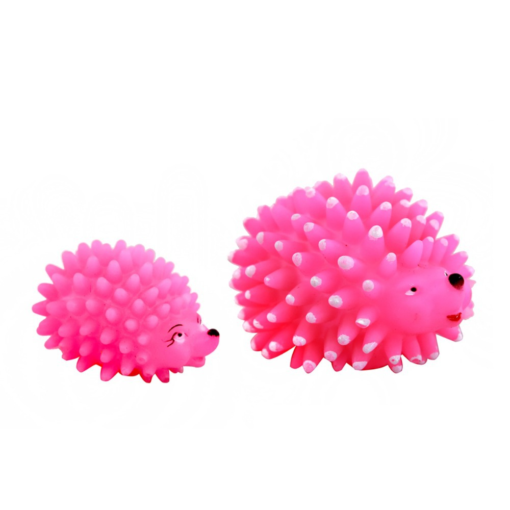 Dog toys Hedgehog rubber pet toys screaming sound toy Pet Supplies(China (Mainland))