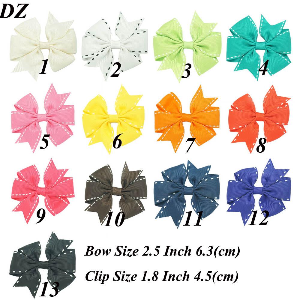 """2.5 """" novo produto Ribbon Pinwheel laço de cabelo doce ganchinhos para os bebés Handmade Boutique acessórios de cabelo(China (Mainland))"""